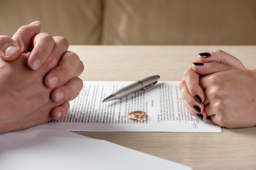 Help with file divorce papers lawyer